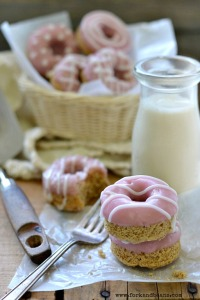 Valentine's Day Donuts - Fork & Beans