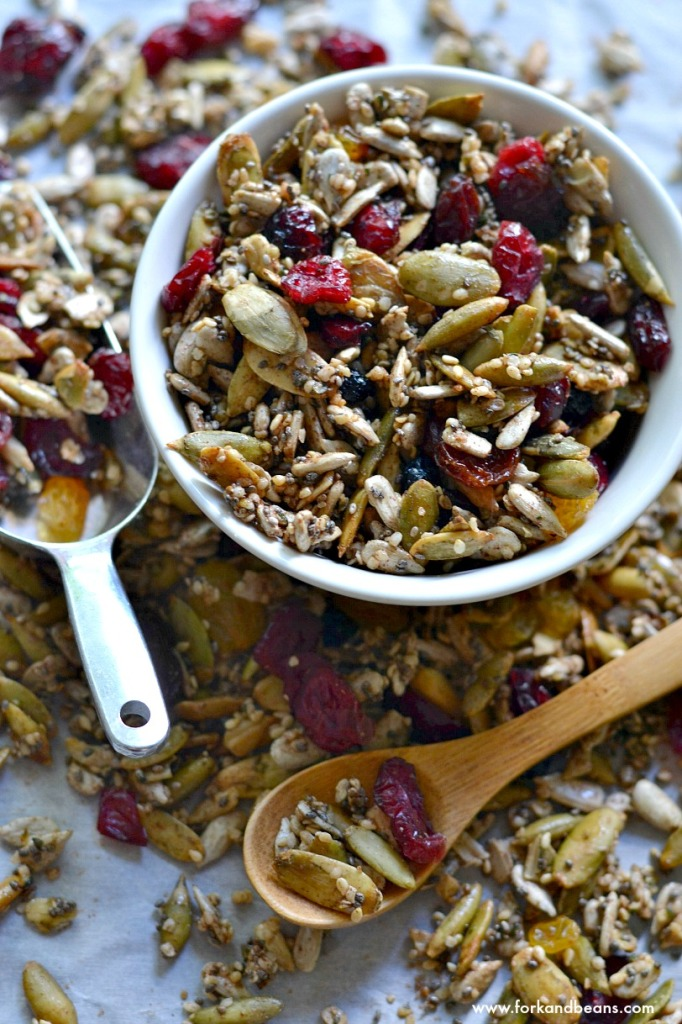 Nut-Free Trail Mix - Fork & Beans