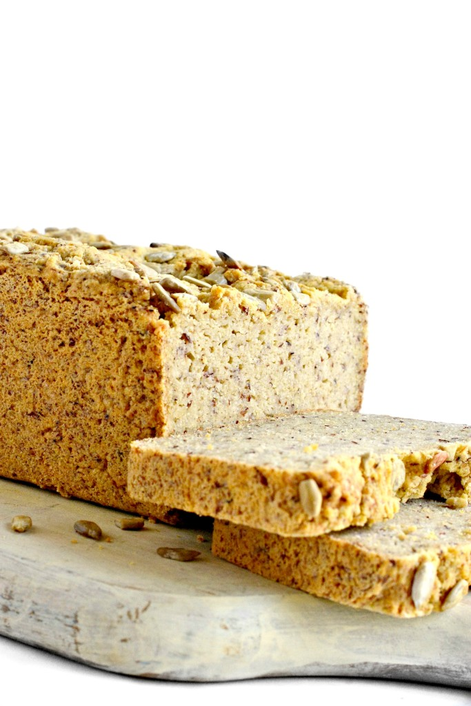 Put this homemade grain and yeast free bread on your to-do list. It's hearty and delicious!