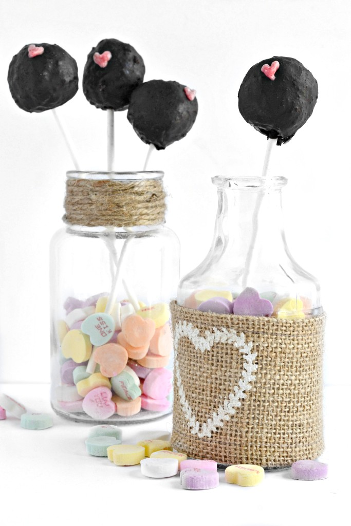 No Bake Cake Pops made with NuNaturals stevia.
