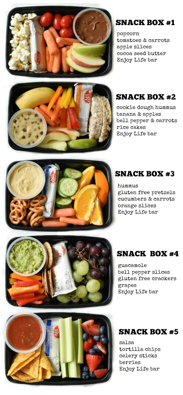 These Kids Snack Bento Boxes are the perfect answer for every busy mom who wants to feed their kids healthy snacks but are short on time.