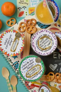 Make your kid's lunch FUN by creating your very own DIY Lunchbox Scratch Off Messages. Just use a coin to scratch off the paint to reveal your secret note!