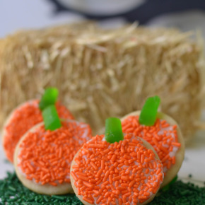 No-Bake Pumpkin Patch Cookies