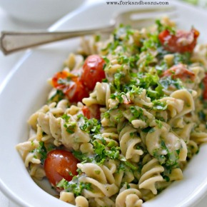 Cauliflower Cream Pasta