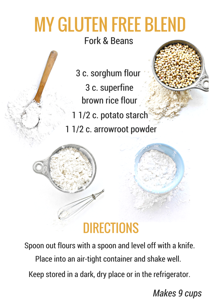 Your Guide To Gluten Free Flours Fork Beans All Purpose Flour Blend