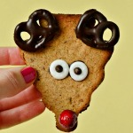 Healthy Reindeer Cookies