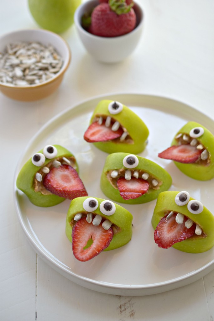 Make snacking fun by turning regular apples into silly apple bites. Food with an attitude!Your kids will be begging for seconds.