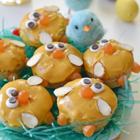 Baby Chick Easter Donuts
