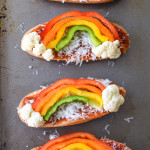 St. Patrick's Day French Bread Pizzas