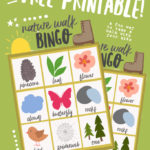 Printable Nature Walk Bingo